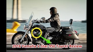 5. 2016 Yamaha V Star 950 Tourer Review