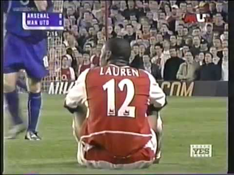 Arsenal vs Manchester United 2003 - Premier League - Full match - English audio.