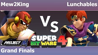 SBW4: COG MVG | Mew2King (C Falcon, Marth, Sheik) vs FX | Lunchables (Roy) – Grand Finals
