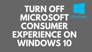 Turn Off Microsoft Consumer Experience on Windows 10If you have been using Windows 10 you will have noticed certain apps like Candy Crush Saga, Twitter, Flipboard, Photoshop Express, Minecraft and many others. These apps are part of Microsoft Consumer Experiences and will keep installing every time to remove them if not stopped correctly. Microsoft Consumer Experience rolls out notifications and recommendation from Microsoft to all there users. These nasty apps like Candy Crush Saga come pre-installed with Windows 10 and the other apps will come straight from the Windows Store for you to purchase or install for free. These apps are a bloody pain and they're available in all versions of Windows 10. These pesky apps re-appear with every Build update. So in order to completely get rid of these apps, you will need to turn off Microsoft Consumer Experiences.Need help or want to chat? join our forumhttp://www.briteccomputers.co.uk/forum