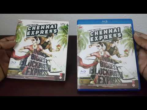 Chennai Express (Hindi) BluRay Unboxing