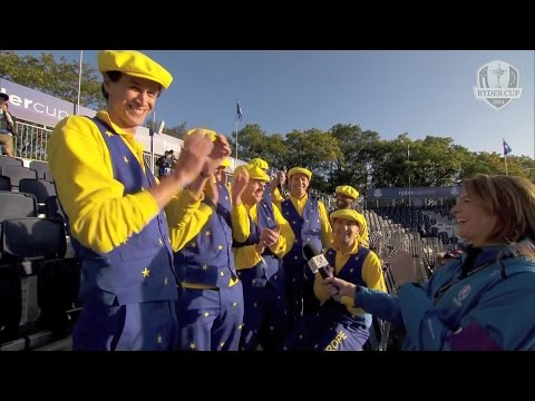 Fans on the 1st Tee – Ryder Cup 2014