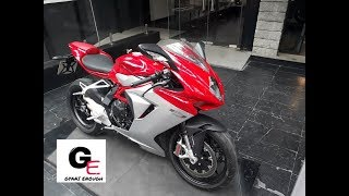 10. mv agusta f3 800 actual showroom look | real life review!!
