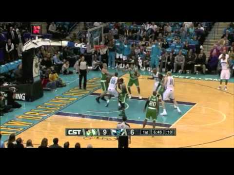 Stiemsma - Greg Stiemsma of the Boston Celtics swatted 6 shots and scored 2 points against the New Orleans Hornets in his first NBA game. Send video requests at www.twi...