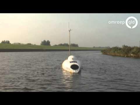 Apeldoornse avonturier wil met bootfiets wereld rond