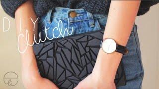 DIY: Clutch in cartone - YouTube