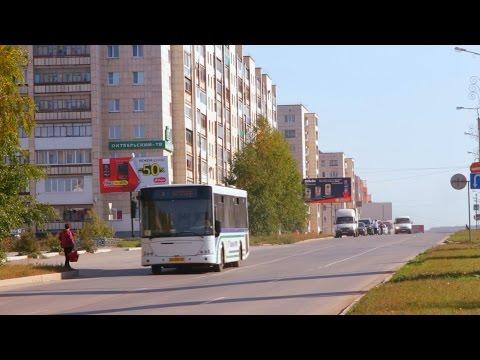 город Октябрьский (лето 2015) - DomaVideo.Ru