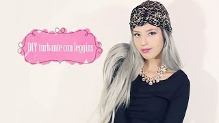 DIY turbante con leggins - YouTube