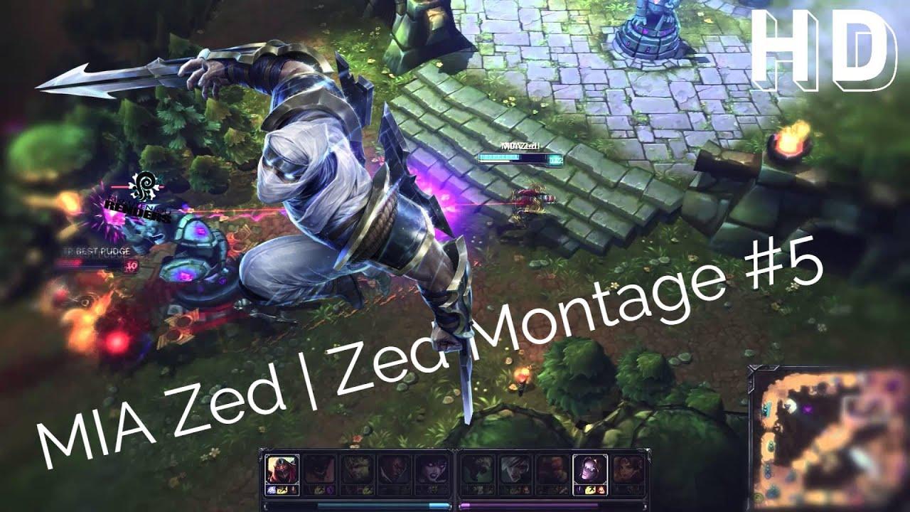 Liên Minh Huyền Thoại: Cao thủ Zed xuất hiện ^^