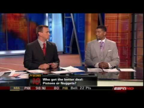 Jalen Rose - Who Got the Better of the Allen Iverson Trade?