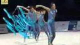 Rhythmic gymnastics- beautiful!
