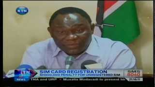 News : Unregistered Sim Card Holders  Now Risk  Three-year Jail Term