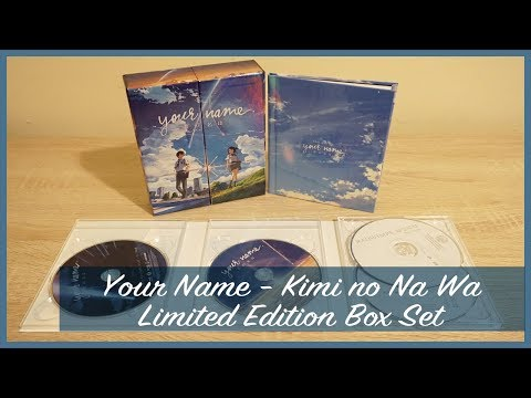 Anime Unboxing | Your Name (Kimi no Na Wa) Limited Edition Blu-Ray/DVD (2017)