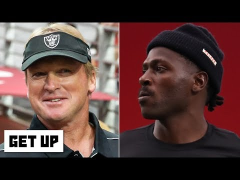Video: Antonio Brown doesn't deserve credit for fueling the Raiders' win - Marcus Spears | Get Up