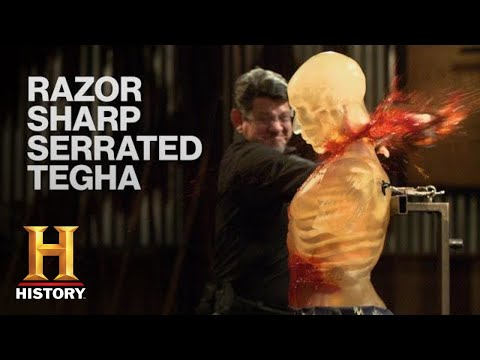 Forged in Fire: Teeth of the Tegha SHREDS the Final Round *SPLIT-TIP BLADE* (Season 8) | History