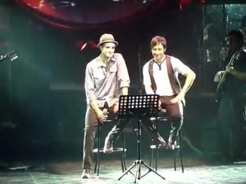 Abel Pintos y Luciano Pereyra