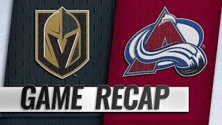 Varlamov's 40-save shutout leads Avs past Vegas by NHL