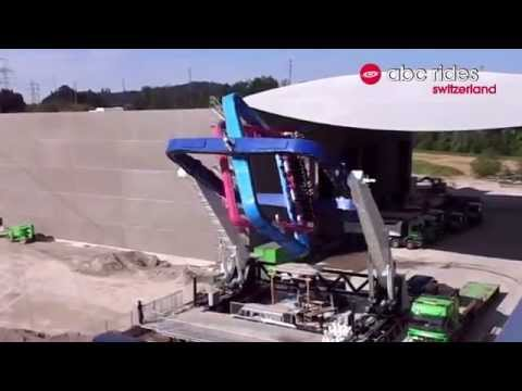 Amusement Park Ride That Spins On 3 Axes