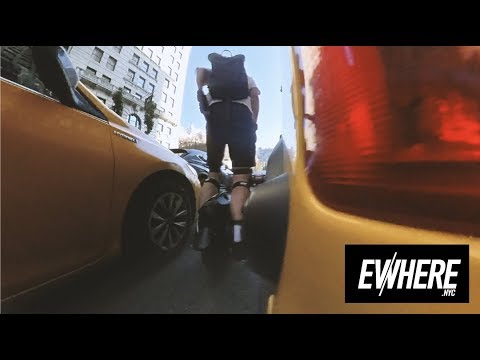 Electric Unicycle FAILS To Be Beaten By ANYTHING / MAX SPEED In NYC / Gotway MSuper X / Insta360 One