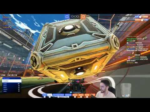 MOVE THE MOUNTAIN | Rocket League 4v4 Game Mode (видео)