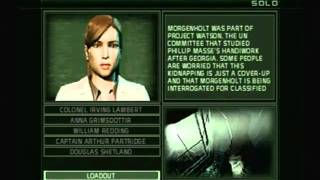 Splinter Cell Chaos Theory LightHouse, Mission 1, Part 1 of 2, Expert Diff., PS2