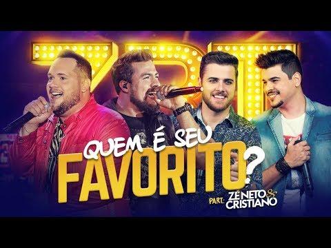 Zé Ricardo e Thiago - Quem É Seu Favorito part. Zé Neto e Cristiano