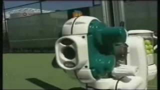 Tennis Highlights, Video - SAM Robot ball machine