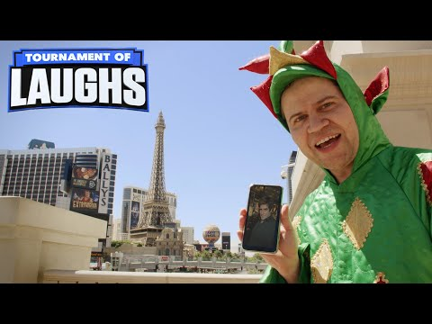 Piff makes the Eiffel Tower disappear : Video 2020 :     Chortle : The UK Comedy Guide