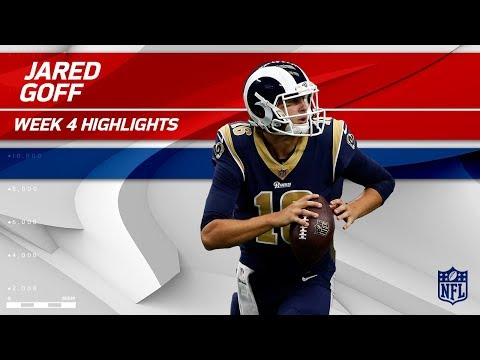 Video: Jared Goff Leads the Winning Charge vs. Dallas! | Rams vs. Cowboys | Wk 4 Player Highlights