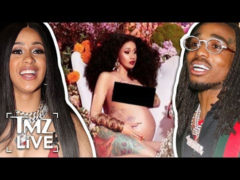 Cardi B Gives Birth To A Baby Girl! | TMZ Live