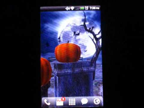 Video of Halloween Live Wallpaper