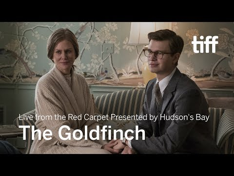 THE GOLDFINCH – Live from the Red Carpet Presented by Hudson's Bay | TIFF 2019