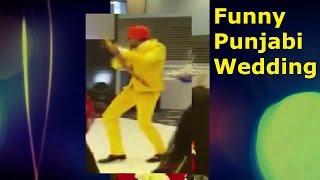 Hilarious Punjabi Wedding - Desi Guy Raps to his Bride - Punjabi Funny 2016