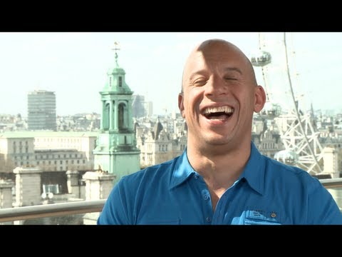 Vin Diesel - Emmy winner Jake Hamilton travels to London, England to talk with the stars of FAST & FURIOUS 6 -- Vin Diesel, Paul Walker, Jordana Brewster, Michelle Rodrig...