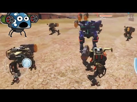 MOMENTOS DIVERTIDOS #2 - FUNNY MOMENTS WAR ROBOTS (Compilation)