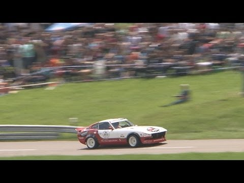 Best Sound from Nissan Fairlady Z  Datsun 280 Z at Swiss Hillclimb 2013 by Claude Petitjean