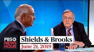 Video Shields and Brooks on Trump's Iran decision, Biden segregationist comments MP3, 3GP, MP4, WEBM, AVI, FLV Juni 2019