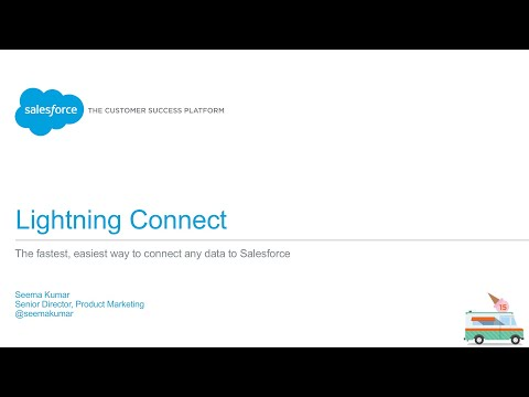 Salesforce1 Platform - Lightning Connect