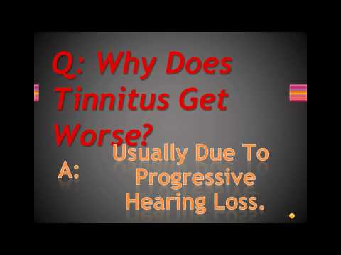 Why Does My Tinnitus Get Worse?