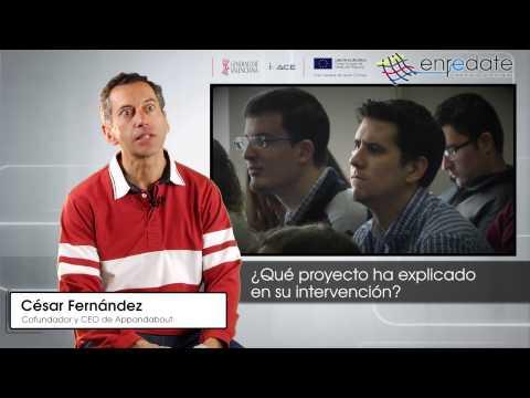 César Fernández en #EnredateElx 2015