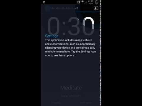 Video of Meditation Assistant Timer