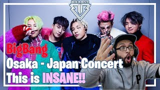 Video BigBang - Osaka Concert, daaamn its lit! **Live Performance Reaction** MP3, 3GP, MP4, WEBM, AVI, FLV Juli 2018