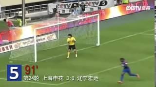 Didier Drogbas Tore für Shanghai Shenhua