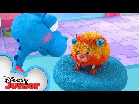 Take Your Pet to the Vet 🐾 | Doc McStuffins | Disney Junior