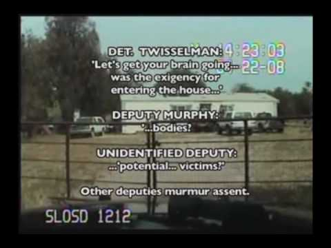 Slo County Sheriff's deputies violate 4th amendment rights of Matt Hart KCCN.tv Part 2