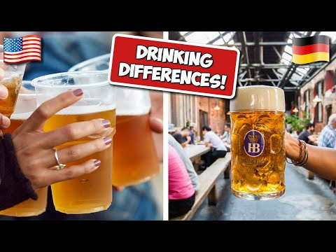 Drinking & Alcohol Differences! (USA vs Germany)