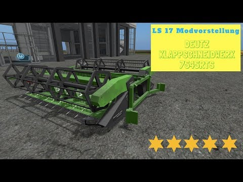 Claas C960 Deutz Folding Cutter 7545RTS v0.9.1 Geringhoff