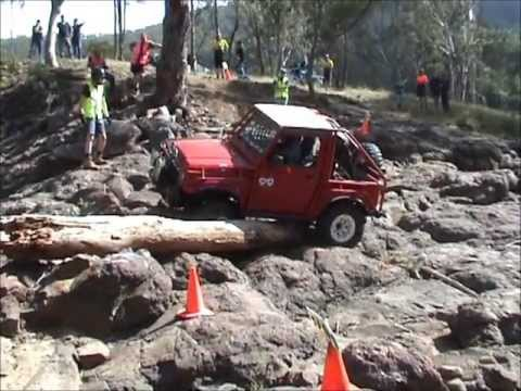 hizook - Tough Tracks 2013 held at the awesome Janowen Hills 4x4 Park out near Warwick. Track 3 was held over the main road from camp ground 1 in the river bed rock g...