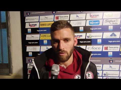 Pisa-Arezzo 2-3, intervista a Fabio Foglia
