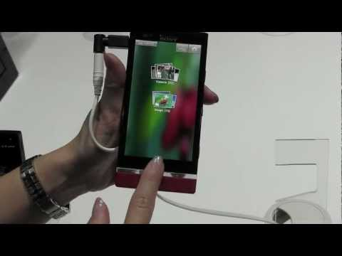 MWC 2012: Sony's Xperia P in Red